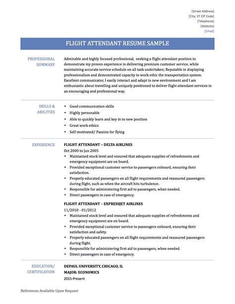 Resume for the post of cabin crew jpg 1275x1650